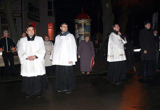 Droga krzyżowa ulicami miasta, 31 marca 2006 r.