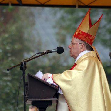 Poświęcenie pomnika Jana Pawła II, 18 października 2009 r.