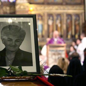 Pogrzeb senator Janiny Fetlińskiej
