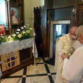 Wprowadzenie reliwkii Jana Pawła II, 18 września 2014 r.