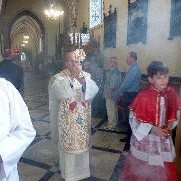 Wprowadzenie relikwii Jana Pawła II