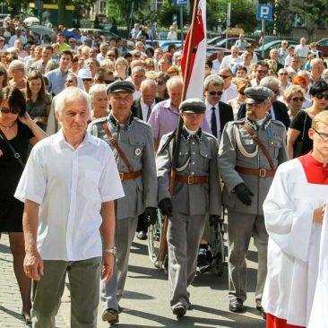 Fara Ciechanów, 28.08.2016. Diecezjalne obchody 1050. rocznicy chrztu Polski (fot. ks. Włodzimierz Piętka/Foto Gość)