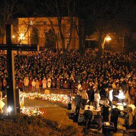 1. rocznica odejścia Jana Pawła II, 2 kwietnia 2006 r.