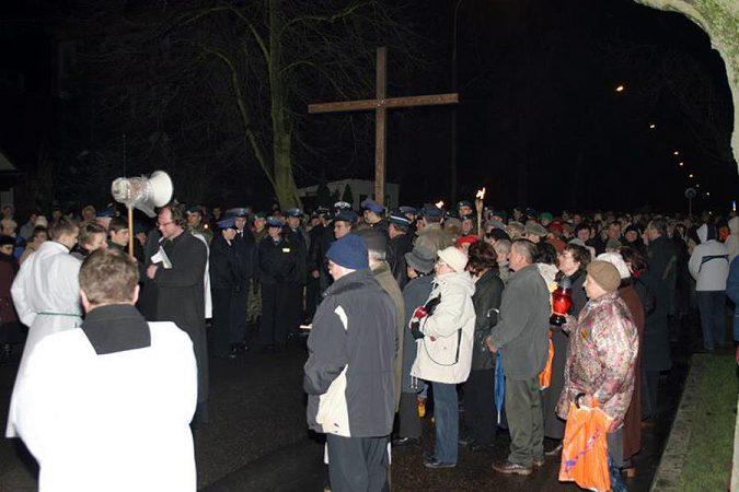 Droga krzyżowa ulicami miasta, 23 marca 2007 r.