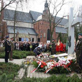 70. rocznica zbrodni katyńskiej, 11 kwietnia 2010 r.