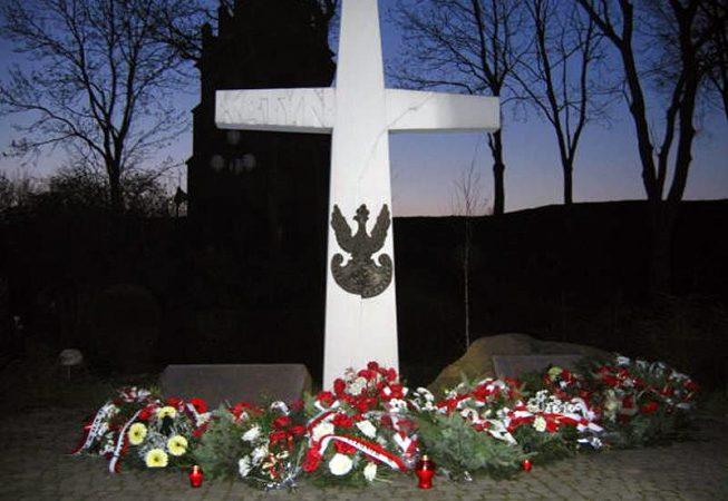 68. rocznica zbrodni katyńskiej, 13 kwietnia 2008 r.