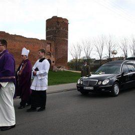 Pogrzeb senator Janiny Fetlińskiej, 21 kwietnia 2010 r.