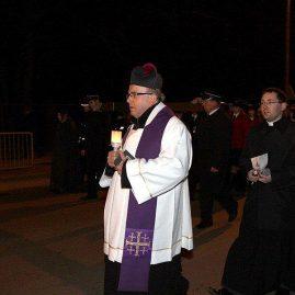 Droga krzyżowa ulicami miasta, 9 marca 2012 r.