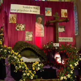 Dziękczynienie za kanonizację Jana Pawła II, 27 kwietnia 2014 r.