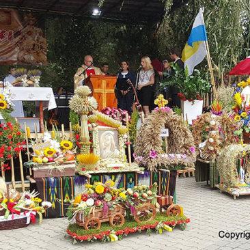 Ciechanów - Dożynki gminne, 4 września 2016 r.