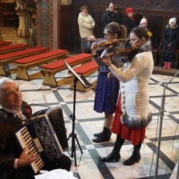 Fara Ciechanów, 27 marca 2016 r., Koncert kolęd LZA