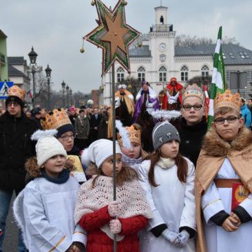 Fara Ciechanów, Orszak Trzech Króli, 6 stycznia 2018 r.