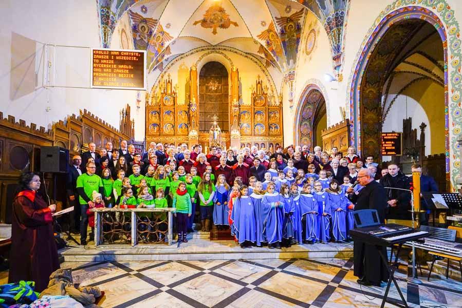 Fara Ciechanów, 26 listopada 2017 r., Koncert chórów