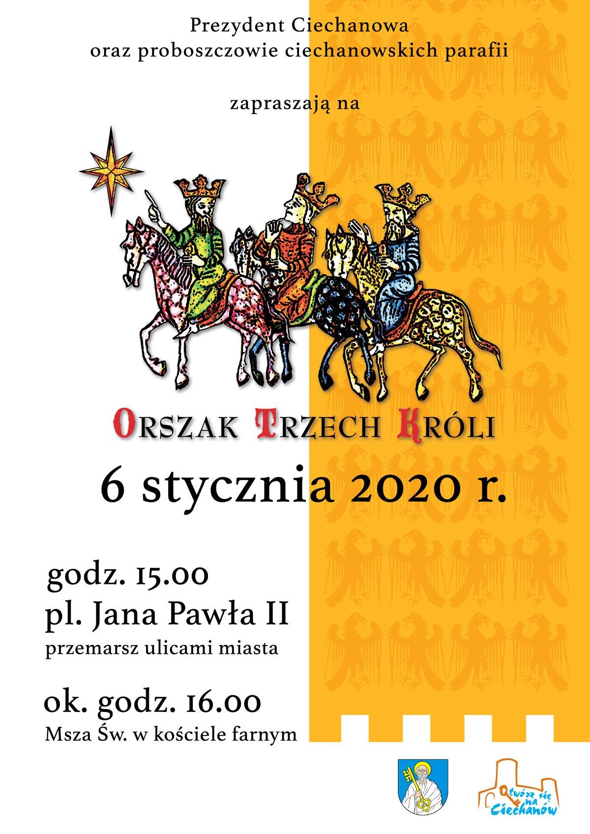Fara Ciechanów, Orszak Trzech Króli 2020