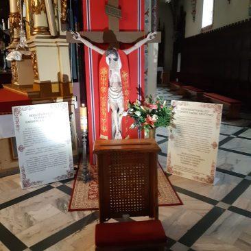 Fara Ciechanów, Cudowny farski krucyfiks wystawiony doprywatnej adoracji