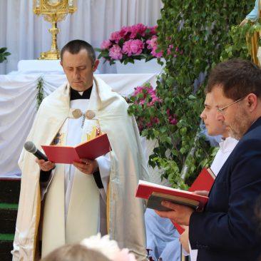 Fara Ciechanów, Boże Ciało, 11 czerwca 2020 r.