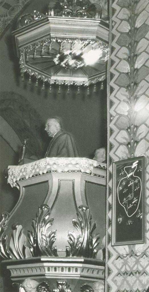Fara Ciechanów, Prymas Polski wparafii farnej wCiechanowie, 19 sierpnia1967 r. Przemówienie wkościele.
